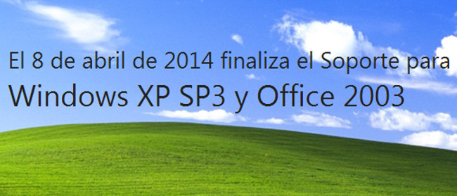 Fin del soporte para Windows XP