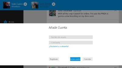Twitter incorpora listas y múltiples cuentas a su aplicación de Windows 8