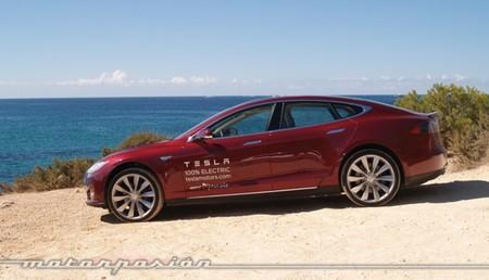 Tesla Model S prueba en Ibiza 12