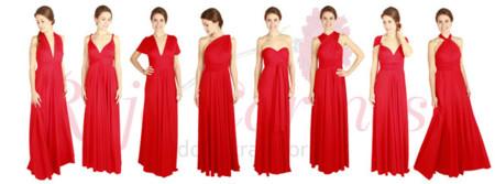 4b863a13fb Rojo Carmesí. Me parecen ideales para invitadas a una boda ...