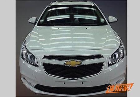 Fotos espía: Chevrolet Cruze, con cariño desde China