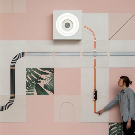 El papel conductivo puede ser una bonita alternativa a los cables para conectar los dispositivos de casa