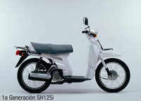 Honda -SH125i- SH 75, primera generación