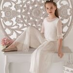 15 trajes de Primera Comunión con pantalón para las niñas que no quieren vestirse de princesa