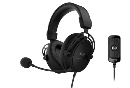 HyperX anuncia los Cloud Alpha S Blackout: auriculares para gamers con sonido envolvente virtual 7.1
