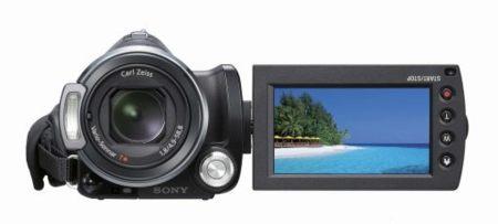Videocámara Sony HDR-CX12 con detector de sonrisas