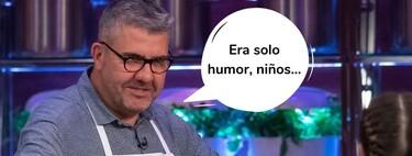 Florentino Fernández pide perdón por sus bromas homófobas en 'MasterChef Celebrity' (y esto es lo que opina Josie)