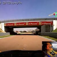 Race Wife maneja su FXXK en Fiorano