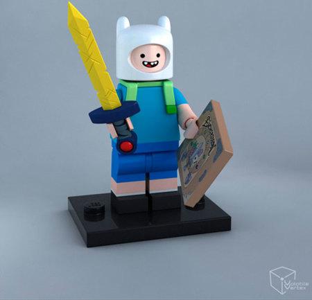 Finn y Jake salen de Ooo y se meten en el mundo de LEGO con estas figuritas tan molonas