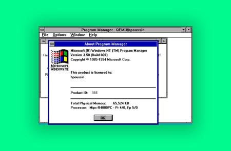 El código fuente de Windows NT 3.5 y la Xbox original se ha filtrado en Internet