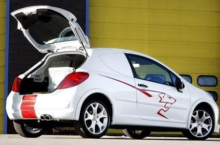 Peugeot 207 comercial 2008