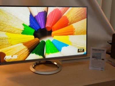 ASUS actualiza familia de monitores Designo con el primer modelo 4K UHD