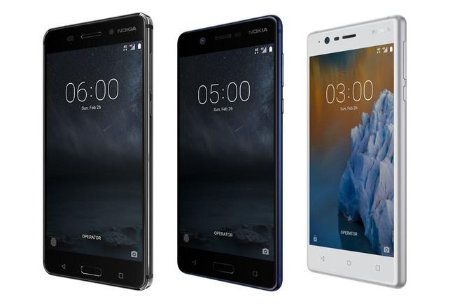 Nokia 3, Nokia™ cinco y Nokia™ 6
