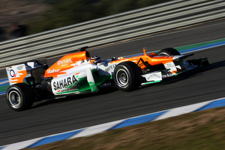 Force India quiere <em>cazar</em> a Sauber