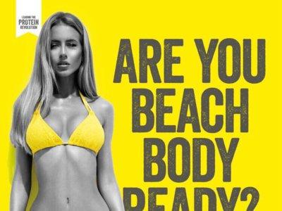 No digas delgada, di lista para la playa ¿En serio?