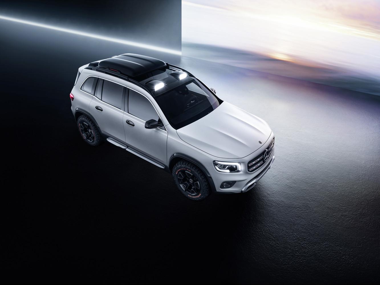 Foto de Mercedes-Benz Concept GLB (6/24)