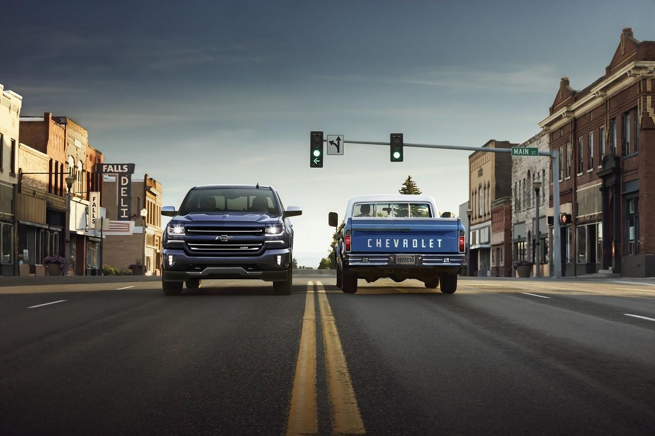 Chevrolet Silverado y Colorado edición Centennial
