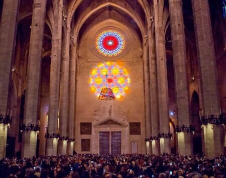'La Fiesta de la Luz' de la Catedral de Mallorca llegará a todo el mundo a golpe de streaming