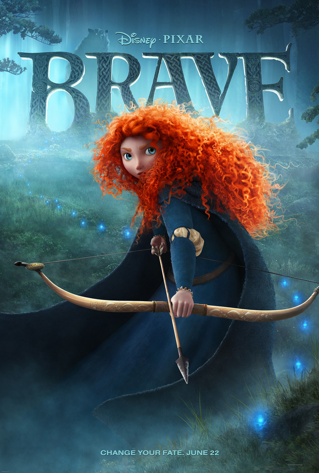 'Brave (Indomable)', carteles