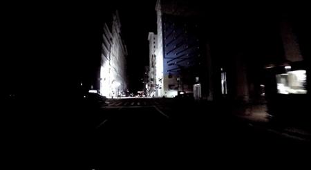 Rodando por Nueva York a oscuras