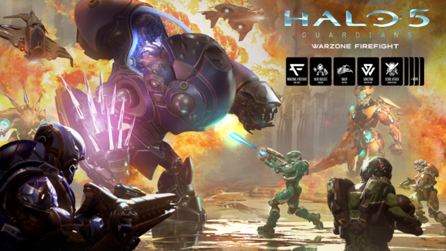 Halo 5 Guardians Warzone Firefight Dlc