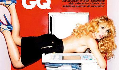 Patricia Conde muy ligera de ropa para GQ