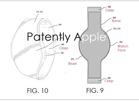 Apple Patente Reloj Pantalla