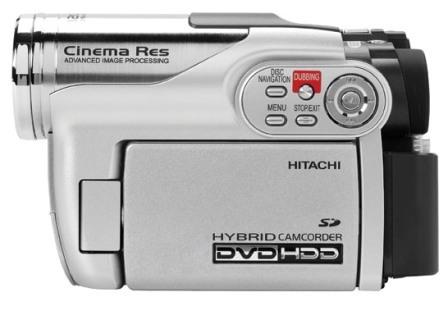 Videocámara híbrida Hitachi
