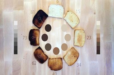 Tostadora cromática por Basheer Tome ¿pan tostado por el color?