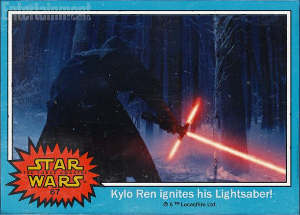 Foto de 'Star Wars: El despertar de la fuerza', imágenes oficiales en forma de cromos (3/8)