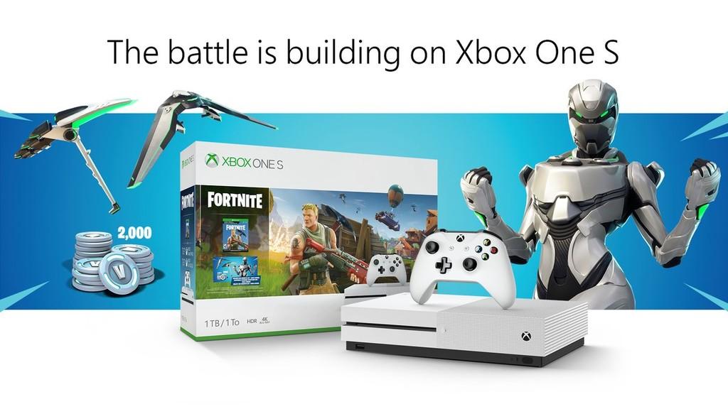 Es oficial: Xbox One tendrá su propio pack con Fortnite y el aspecto legendario de Eón