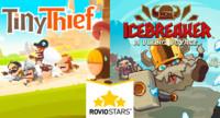 Icebreaker y Tiny Thief las dos primeras propuestas de Rovio Stars aprueban con nota