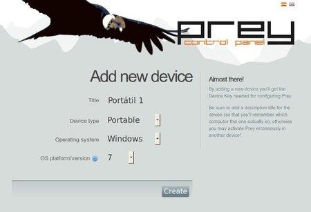 Prey, software de localización de código libre para portátiles