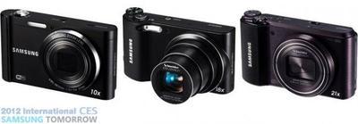 Samsung presenta en el CES varios modelos con Wi-Fi: WB850F, WB150F y ST200F