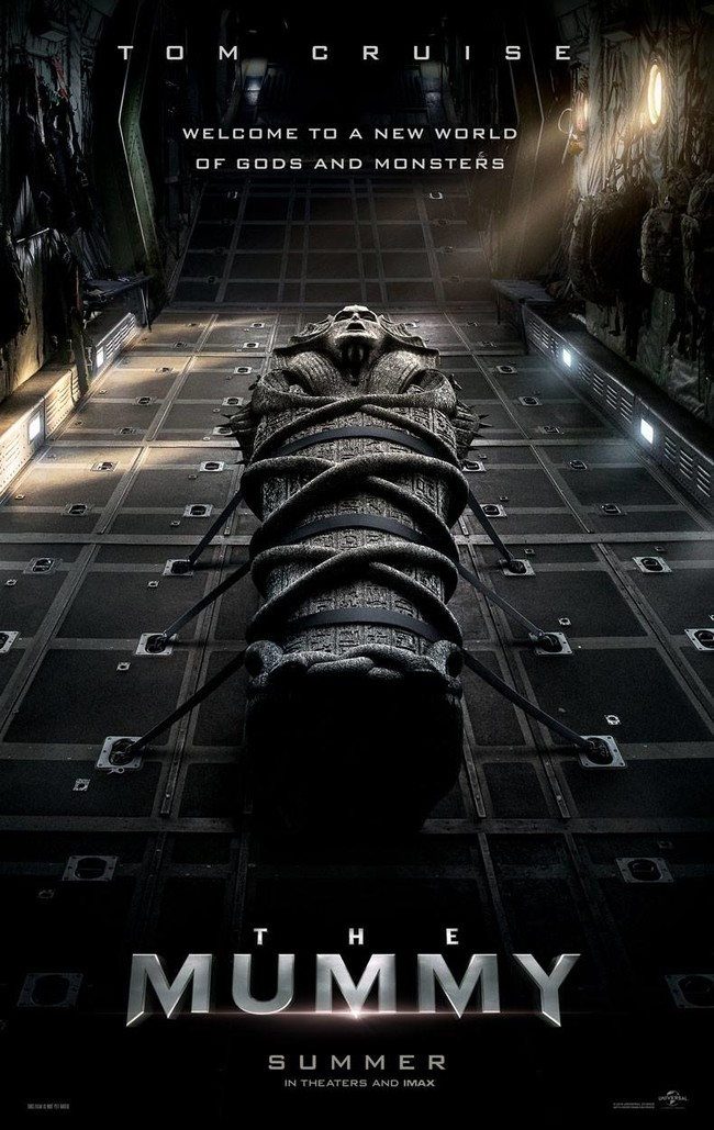 The Mummy Poster Con Tom Cruise