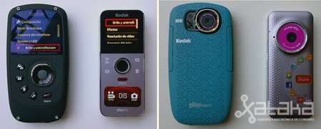 Kodak Playsport y Playfull