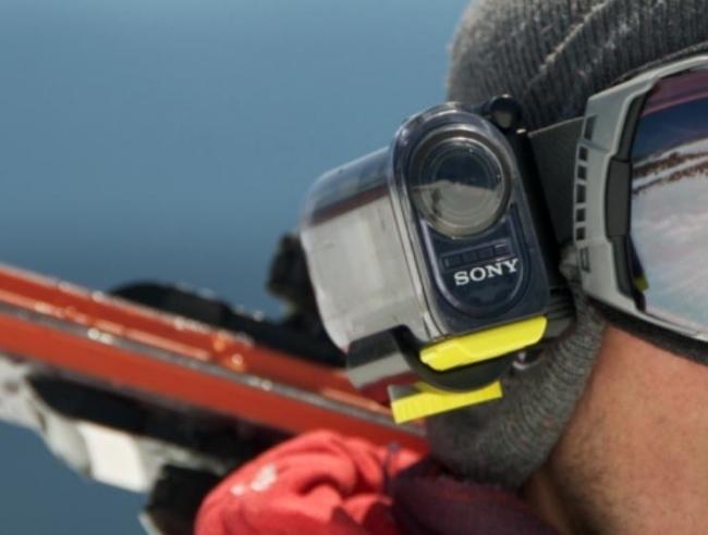Sony camera action