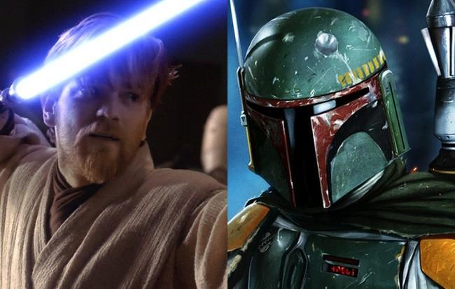Obi-Wan y Boba Fett