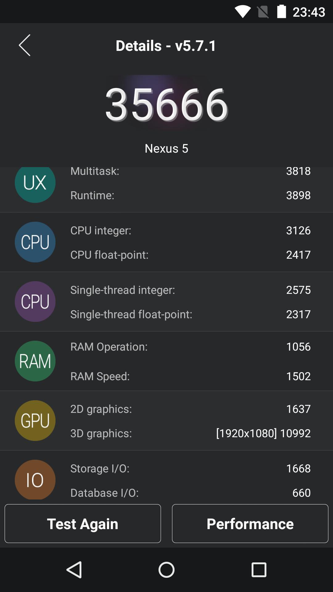 Foto de Benchmarks Nexus 5 Android 5.1.1 (8/43)