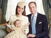 Me parto con la foto oficial del bautizo del príncipe George