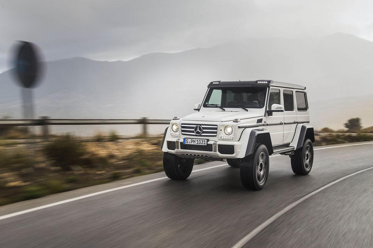 Foto de Mercedes-Benz G 500 4x4², toma de contacto (94/127)