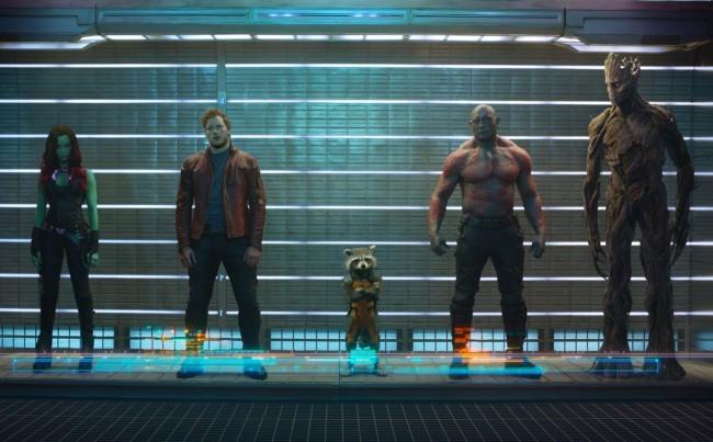 Los protagonistas de Guardianes de la Galaxia