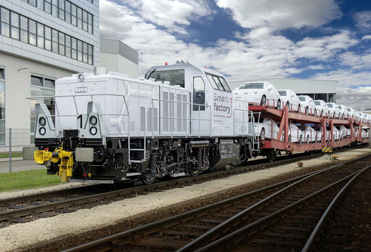 Foto de Locomotora híbrida Ingolstadt Audi (4/4)