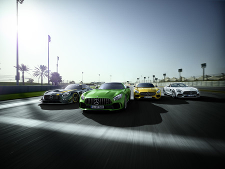 Mercedes-AMG GT family