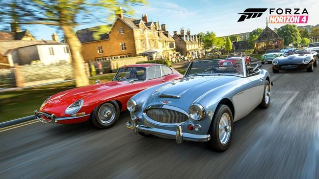 Forza Horizon 4 recorre la ciudad de Edimburgo durante la primavera en un gameplay de una hora