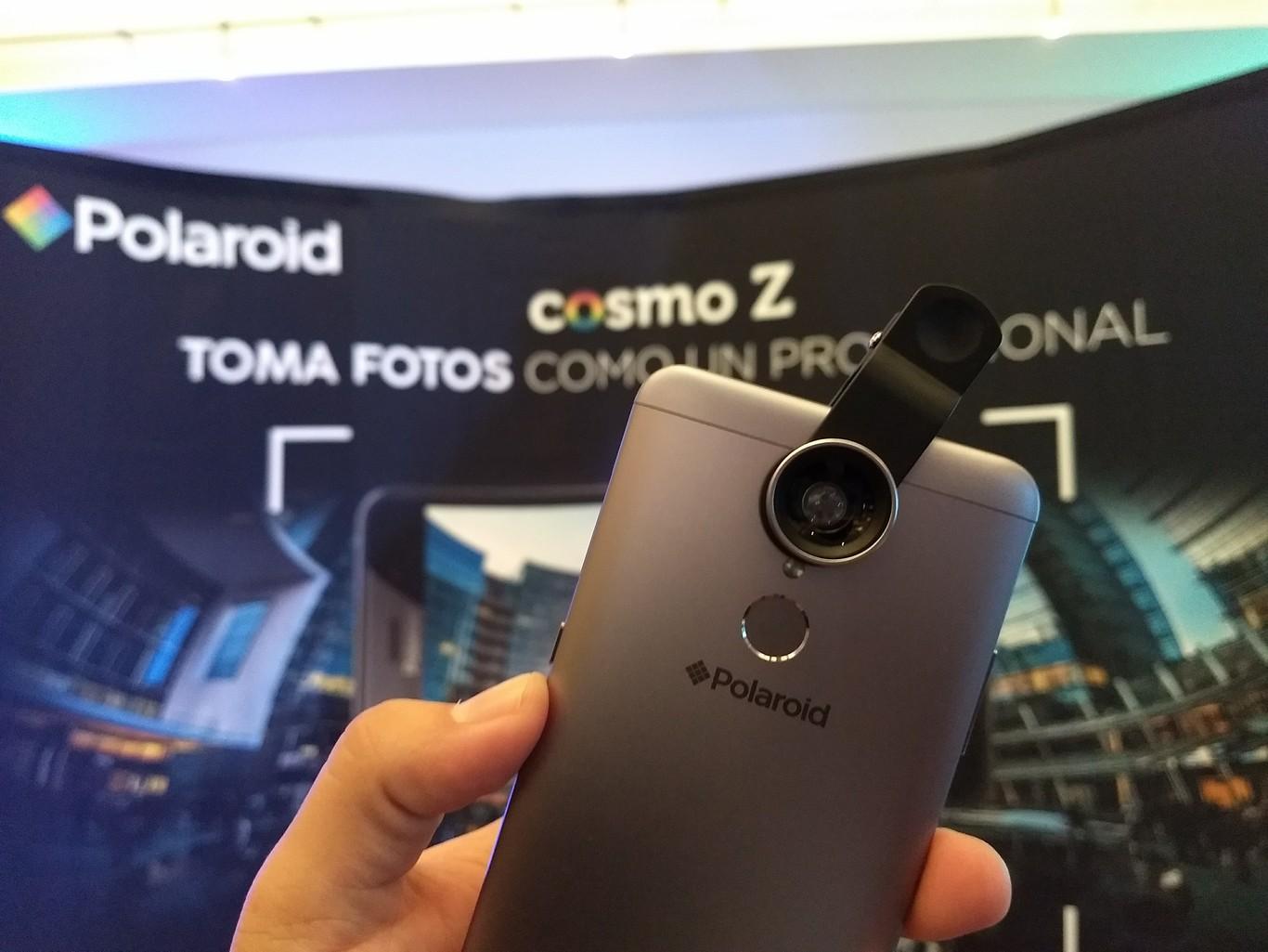 727022b0e4 Cosmo Z, este es el smartphone gama media con el que Polaroid despide el año