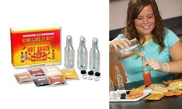 Kit para hacer salsas picantes en casa