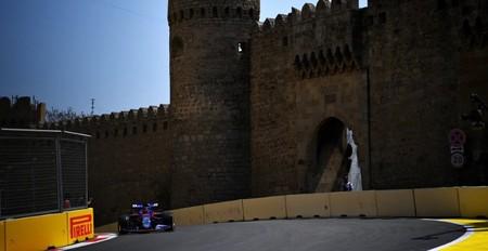 Kvyat Baku Formula 1 2019