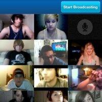 Tinychat FB para iOS o cómo realizar videollamadas entre 12 personas de forma simultanea