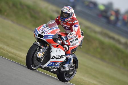Andrea Dovizioso da el primer golpe en Alemania y es el más rápido del viernes en MotoGP